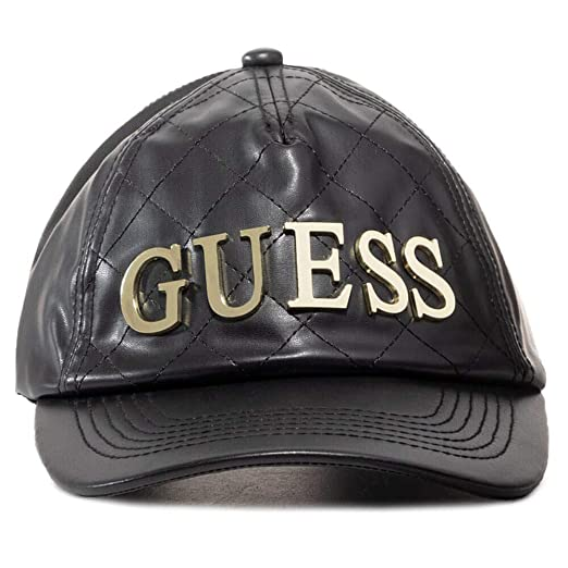 Guess Baseball Black AW8444 POL01 Gorra para Mujer: Amazon.es ...