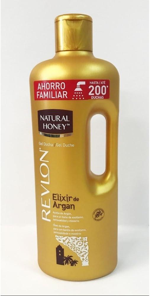NATURAL HONEY gel de ducha elixir de argán bote 1.5 lt