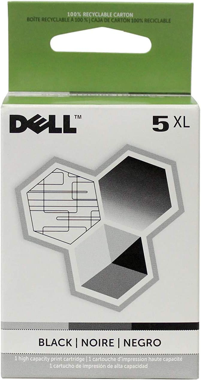 Dell M4640 Series 5 922 924 944 946 962 964 Ink Cartridge (Black) in Retail Packaging