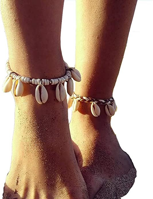 style fußfessel fuß frauen sandale strand boho kette armband barfuß