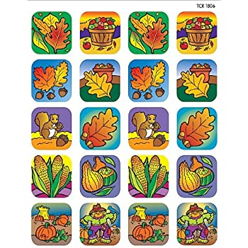 Teacher Created Resources Fall Stickers, Multi Color (1806)