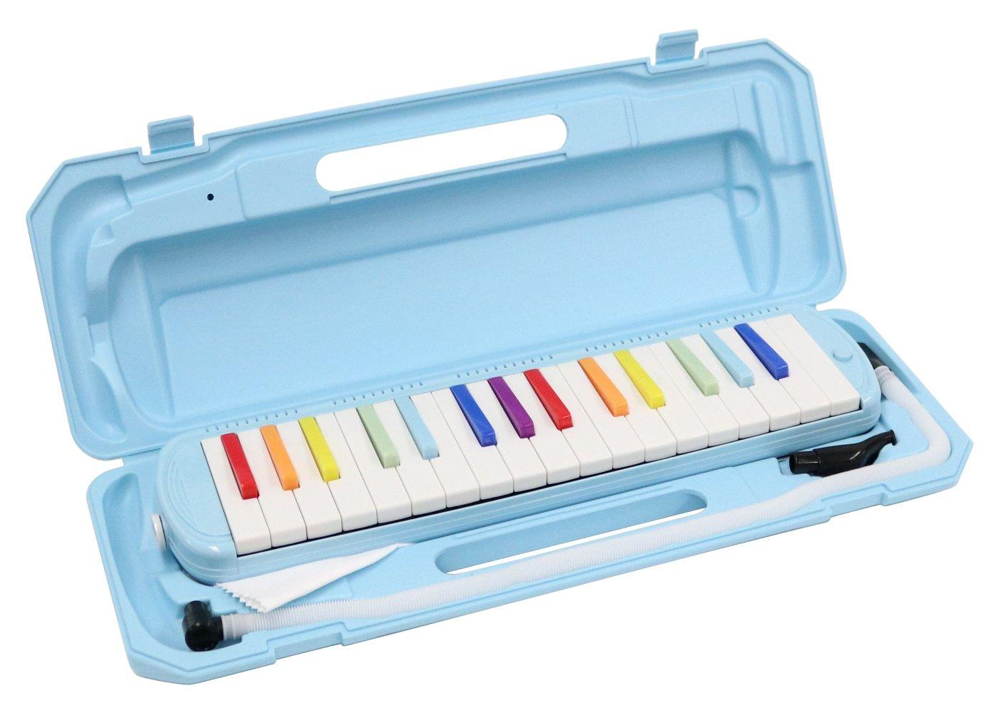 KC 鍵盤ハーモニカ (メロディーピアノ) 虹色 P3001-32K/NIJI
