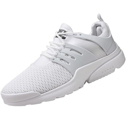 Scarpe da Uomo Tessitura di Tulle di Gomma Primavera Autunno Suole Leggere  Comfort Sneakers Scarpe da 12b9877d0f5