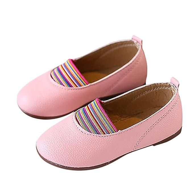 Zapatos para niños,Beikoard Niños niños y niñas Color Caramelo Color Princesa Zapatos Zapatos Perezosos Zapatos: Amazon.es: Ropa y accesorios