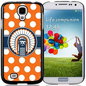Beautiful And Popular Designed With Ncaa Big Ten Conference Football Illinois Fighting Illini 18 Protective Cell Phone Hardshell Cover Case For Samsung Galaxy S4 I9500 i337 M919 i545 r970 l720 Phone Case Black