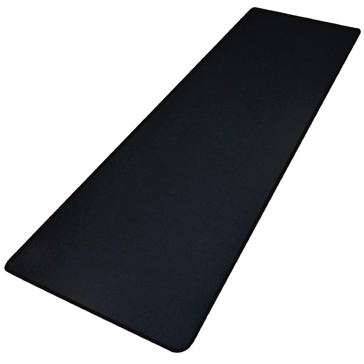 Extended High Precise Large Gaming Mouse Pad/Maximize to Enhances Control & Speed of The Mice/No-Slip Base/Extends The Battery Life of Wireless Mice- Extened Black
