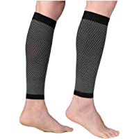 Sports Calf Compression Sleeve, Calf Strains, Shin Splints and Varicose Veins for Men and Women | Calf Sleeves for…