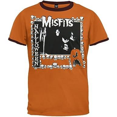 Misfits - Halloween Ringer T-Shirt - Large: Amazon.co.uk: Clothing