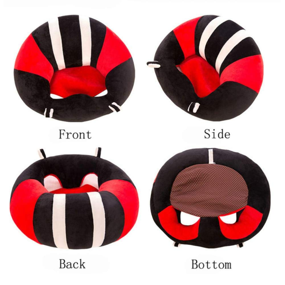 Baby Plush Seat Portable Sofa Chair Support Toy Kid Learning to Sit Chair Cushion Pad Mat Support Safety Child Care
