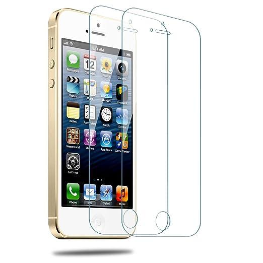 74 opinioni per iphone 5s Proteggi Schermo,Utmury Vetro temperato Proteggi schermo Premium per