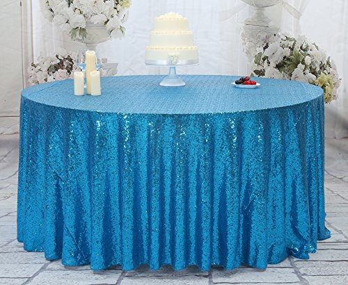 - Eternal Beauty Sequin Tablecloth, Sequin Table Linen (120