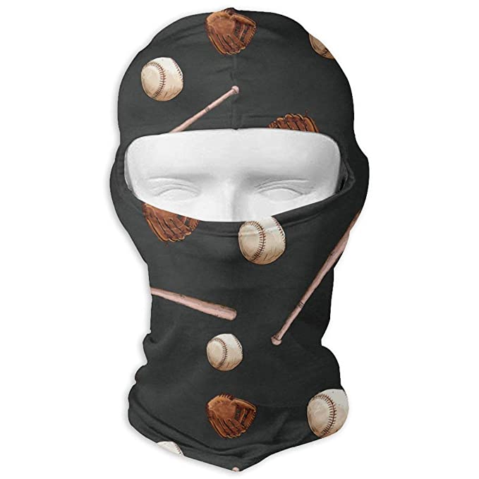 Winter Balaclava Face Mask -Baseball Ball Bat, Men & Women ...