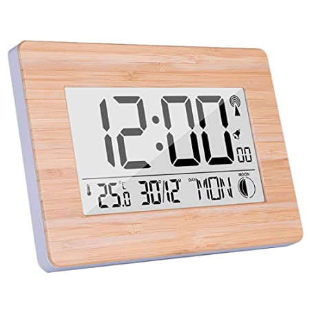 yaoyao Reloj de Pared para Sala de Estar Reloj de Pared Digital ...