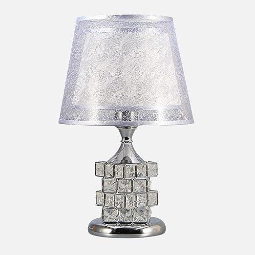 HZC Lámpara de Mesa de Cristal Elegante Lámpara de Escritorio de ...