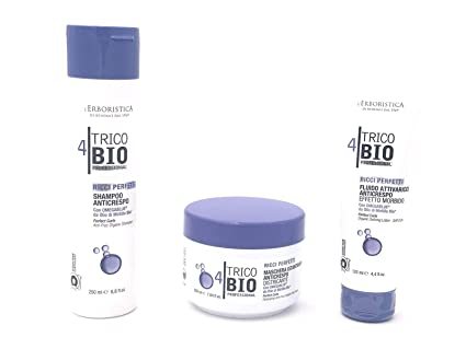 Lerboristica Kit Capelli Ricci Trico Bio Shampoo 250ml