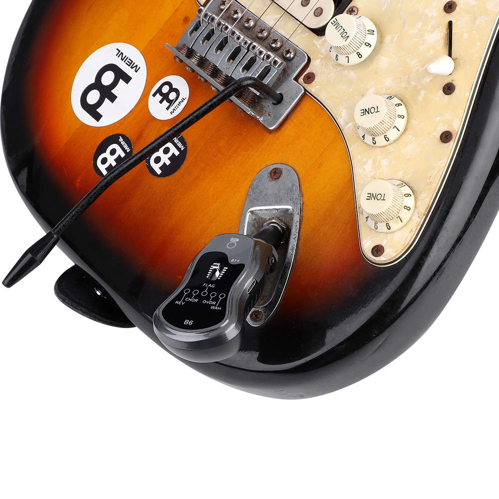 El efector de Guitarra portátil, el Mini portátil se Puede conectar a los Auriculares y la sonda de Guitarra eléctrica Tipo Bluetooth B6: Amazon.es: ...