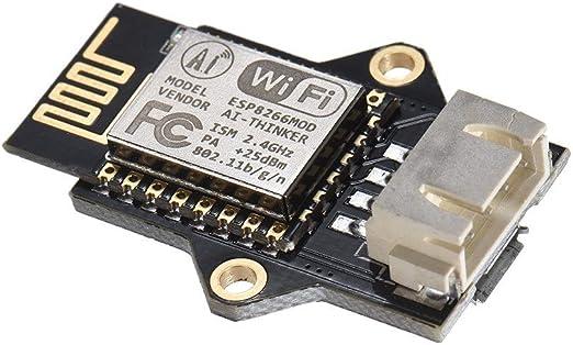 IJeilo 3D Impresora Accesorio, Impresora 3D ESP8266 WiFi módulo ...