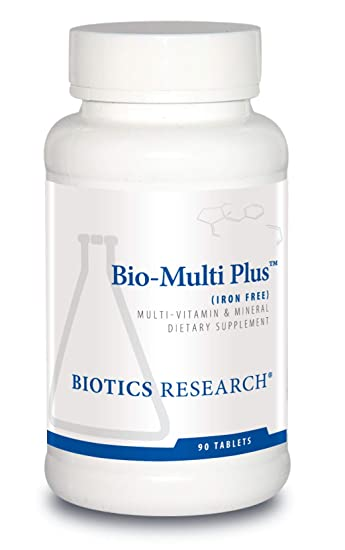 Amazon.com: Biotics investigación Bio-Multi Plus (sin hierro ...