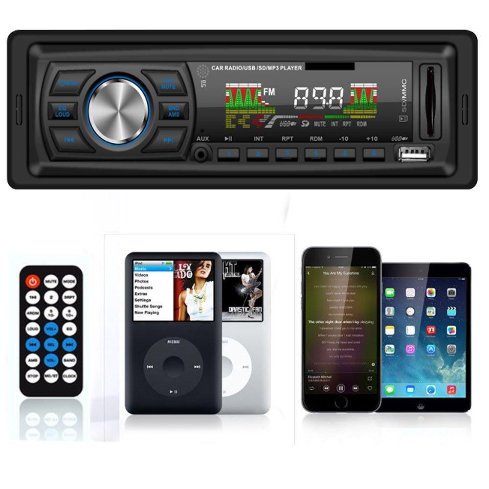 Masione® Autoradios Stereo mit USB Anschluss: Amazon.de: Elektronik