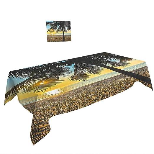 Mantel Rectangular para decoración de Palmas de árbol de la ...