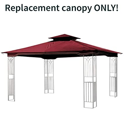 Amazon.com: Sunjoy carpa toldo de repuesto para 10 x 12 ...