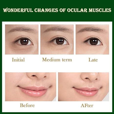 Amazon.com: Crema de ojos eléctrica masaje stick hidratante ...