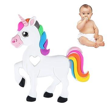 Bestwin - Juguete de dentición para bebé, flexible y apto para ...