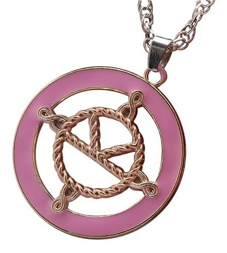 Kingsman: The Secret detalles sobre Servicio medalla Eggsy collar con colgante en forma es rosa