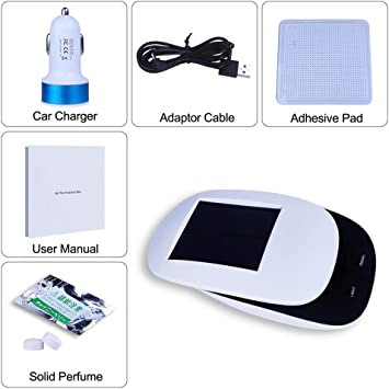 GeKLok purificador de aire para coche, limpiador de aire para ...
