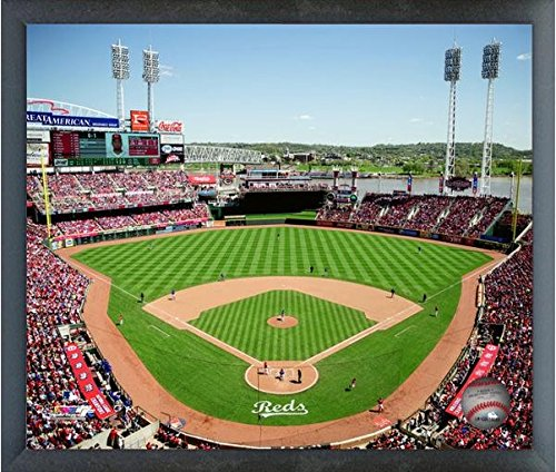 Cincinnati Reds Great American Ballpark 2015 MLB Stadium Photo (Size: 17