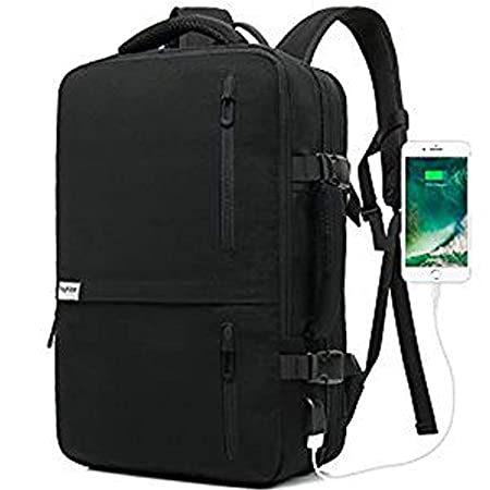 Lifeasy 17 Inch Laptop Travel Backpack Expandable Backpack