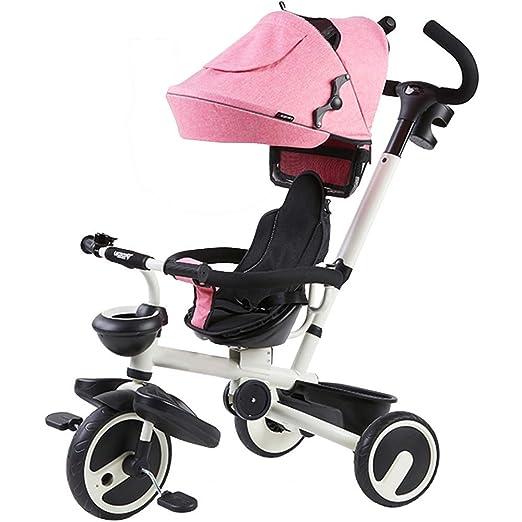 YUMEIGE triciclos Triciclo para niños Peso de Carga 25 kg 1 ...