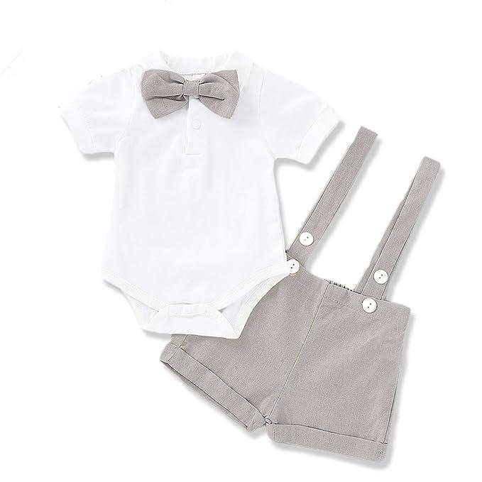 Amazon.com: MLCHNCO - Traje formal para bebé y niño (manga ...