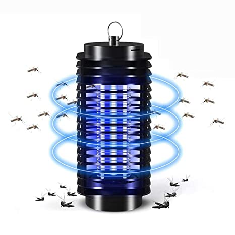 Electric Fly Bug Zapper Mosquito Insect Killer LED UV Light Trap Lamp Catcher UK