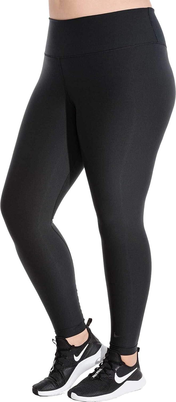 Amazon Com Nike Women S Plus Size Power Sculpt Training Tights Black 1x Clothing