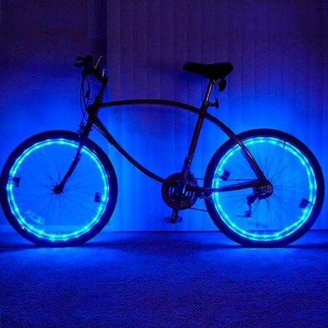 Pecosso Bicicleta luz Rueda de Agua Densidad LED Bicicleta 2 Modos ...