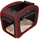 Petsfit Portable Pop Open Dog Kennel, Cat Play Cube, Lightweight Pet Kennel 69cmL x 46cmW x 56cmH