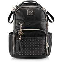 Chelsea + Cole For Itzy Ritzy Diaper Bag Backpack - Studded Boss Backpack Diaper Bag Includes 19 Pockets, Changing Pad…
