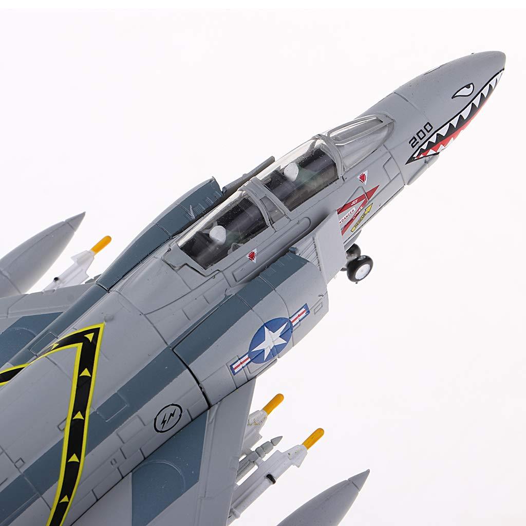 Hellery 1//100 F 4 Fighter II Angreifer Alloy Diecast Model Geburtstagsgeschenk