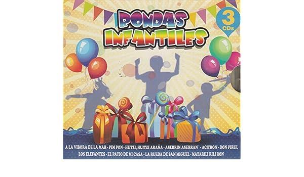 - 7509848295386 - RONDAS INFANTILES 3 CDS - Amazon.com Music
