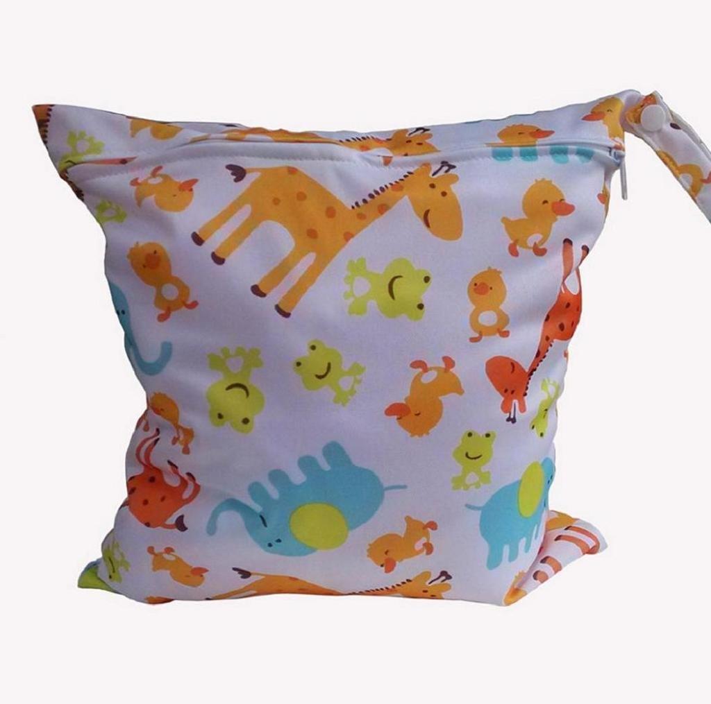 Koly La bolsa de orina bebé impermeable especial sola cremallera bolsa de almacenamiento, 11 colores,B Koly_1611