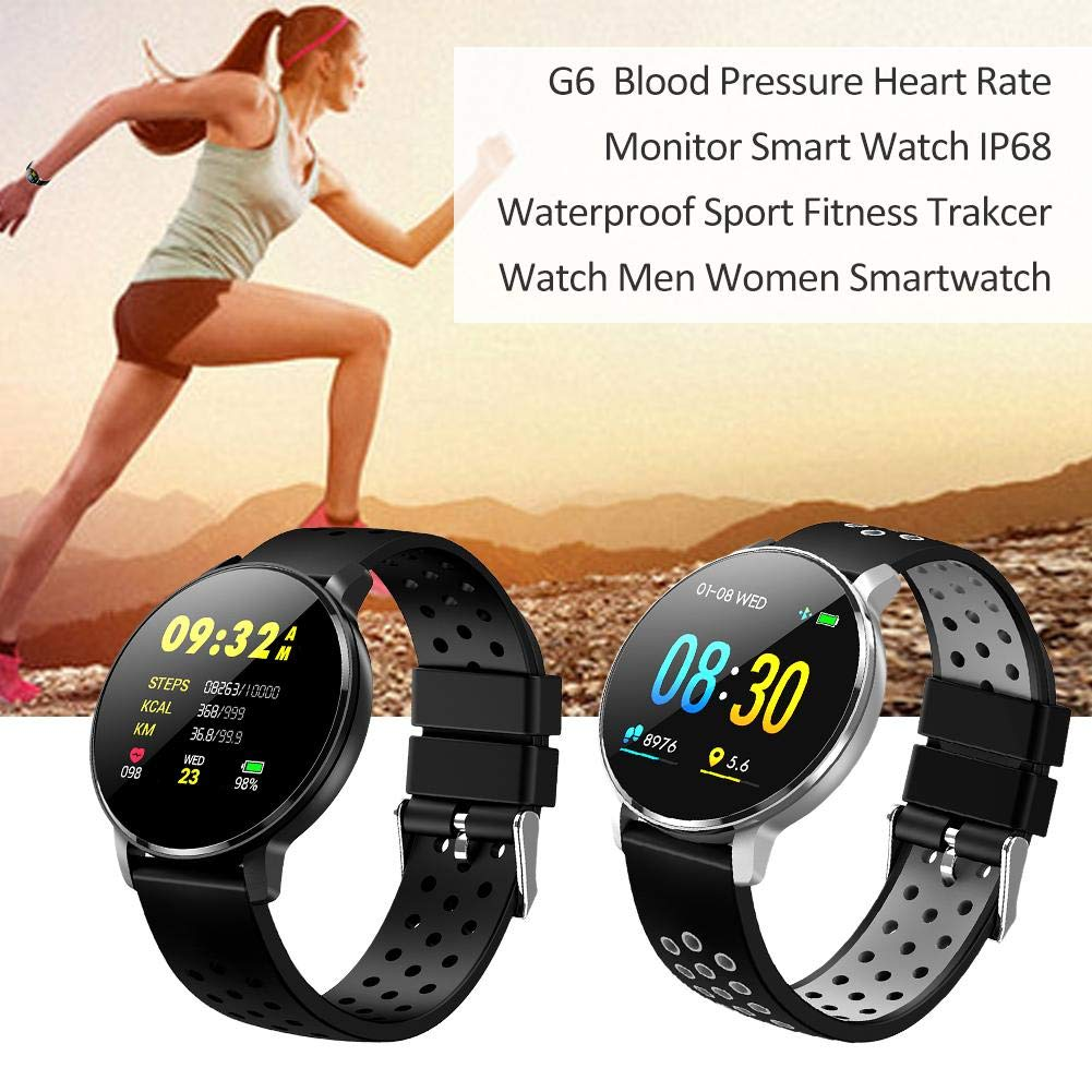 Libertry G6 Smart Bluetooth Reloj Hombres Fitness Tracker HD ...