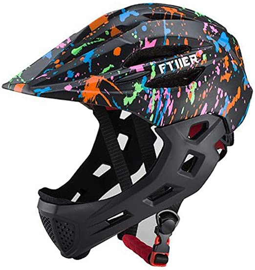 Y&HY Cascos de Bicicleta de Seguridad para Toda la Cara para niños ...