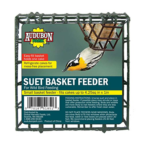 Audubon Park 12331 Suet Cake Basket Feeder For Sale