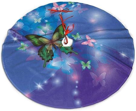 N/A Paddington - Falda para árbol de Navidad, diseño de Mariposas ...