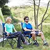 Timber Ridge Camping Chair Ergonomic High Back Support...
