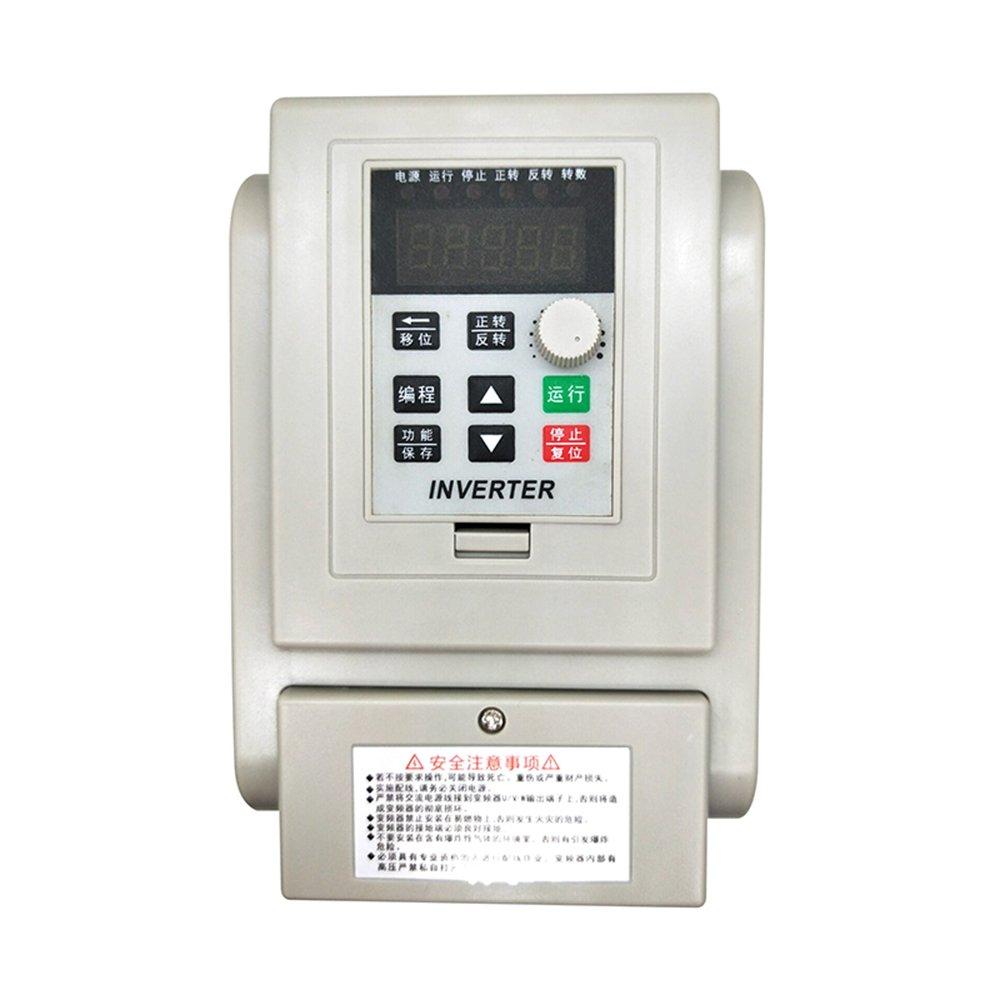 Inversor VFD monofásico Inversor VFD Variador de frecuencia variable profesional 2.2KW AC220V 12A para control de velocidad del motor del husillo (VFD-2.2KW) ¡ MYSWEETY