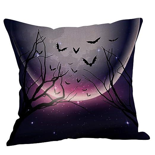 CLOOM Funda Cojines 45x45 cm Halloween Pillow Cover Fundas ...