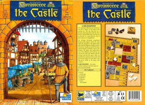 Rio Grande Games Carcassonne - The - Castle Carcassonne