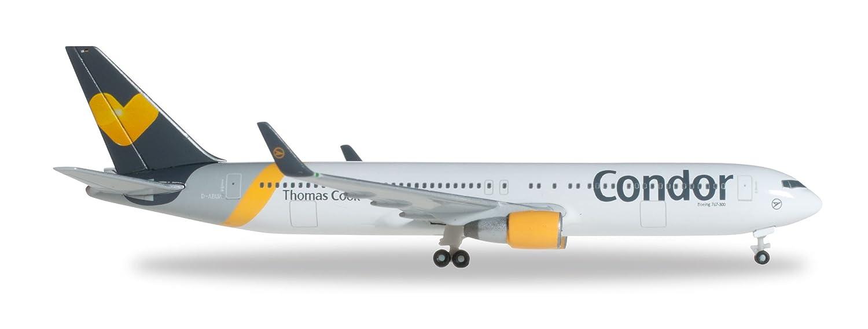 Herpa 527521 - Condor Boeing 767-300ER Sunny Heart Farbes